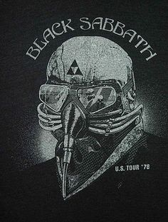 Black Sabbath. After seeing The Avengers tonight, I now know why I saw this in the Geek section yesterday.