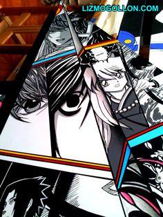 (work in progress) Manga# Pop Art# anime# inuyasha# death note# ilustracion# illustration  by: Liz Mogollon Inuyasha, Manga, Death Note, Otaku, Pop Art, Video Games, Anime, Animation, Illustration