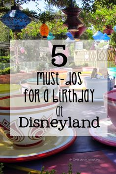 Little Dove Creations: must-dos for a birthday at Disneyland #birthday #celebration #Disneyland