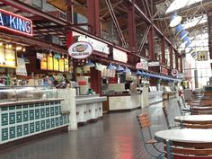 Food Court in Union Station St. Louis