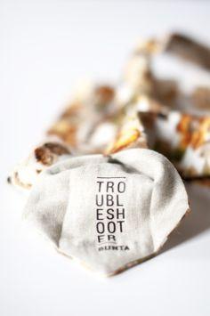 Bunta Troubleshooter floral tie Label  Photo: Nat Rusinowska #tie #floral #menswear