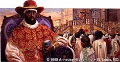 Grandes reis e rainhas da Africa - MENELIK II - Reis dos reis da Abissinia - (1844-1913)