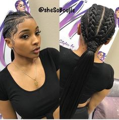 Schedule Appointment with Styledby Yalemichelle - goddess braids - Box Braids Hairstyles, Baddie Hairstyles, Black Girls Hairstyles, Fashion Hairstyles, American Hairstyles, Black Girl Braids, Girls Braids, French Braid Ponytail, French Braids