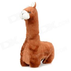 Brand: N/A; Model: YT1301; Quantity: 1 piece(s) per pack; Color: Brown; Material: PP cotton + lint; Specification: Lovely alpaca style; Great doll toy for kids; Packing List: 1 x Toy; http://j.mp/1ljDOiv