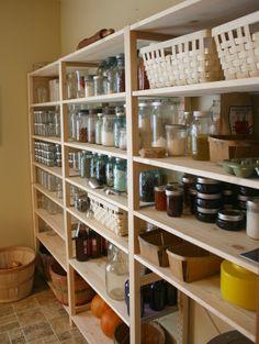 Ikea Ivar as pantry shelving