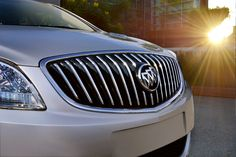 Buick Verano Accessory Grille; Black and Bright Chrome
