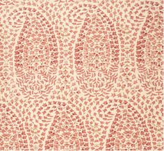 """""""Lahore"""" in rose by Lisa Fine Textiles. Trend: Paisley, April 2014."""