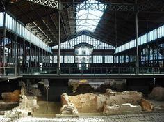 Mercat del Born, El Born à Barcelone - Catalogne (Espagne) http://www.actuweek.com/go/amazon-espagne.php
