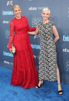 Busy Phillips and Michelle Williams | Here's What Everyone Wore To The 2016 Critics Choice Awards