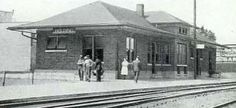 belding michigan history | Below, another current photo of the depot above. [Alan Loftis]