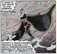 Created by Len Wein and Dave Cockrum. (X-Men Marvel Women, Marvel Dc, Marvel Comics, Marvel Females, Black Panther Storm, Storm Costume, Ororo Munroe, Jack Kirby Art, African Goddess