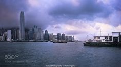 Hong Kong Victoria Harbour by weihongliu6