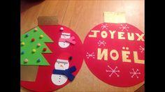 DIY décoration de noël pour enfants comment fabriquer vos boules de noël :)