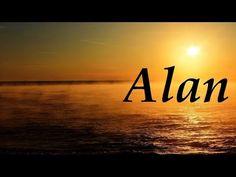 Alan, significado y origen del nombre - YouTube