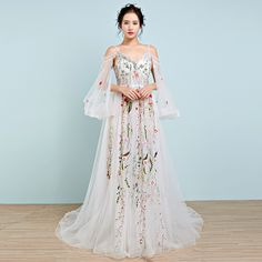 Evening gowns 2016 new dress slim birthday party flower fairy party short Korean dress with long sleeves autumn