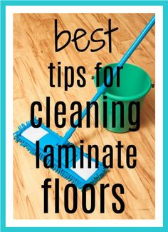 Learn how to clean and care for your laminate flooring with these tips from our readers. Deep Cleaning Tips, House Cleaning Tips, Natural Cleaning Products, Spring Cleaning, Cleaning Hacks, Floor Cleaning, Cleaning Recipes, Organizing Tips, Car Cleaning