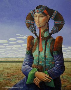 Reincarnation 2012 . / Mona Lisa / ZAYA , Zayasaikhan Sambuu