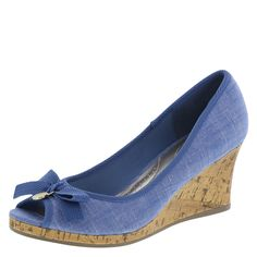 Women's Jenna Bow WedgeWomen's Jenna Bow Wedge, Blue