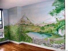 Best Hand Painted Murals in Kid Rooms | GeeksRaisingGeeks.com