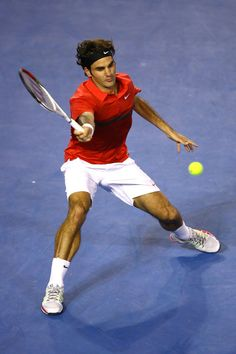 sports shoes 1703e 758ee Roger Federer, 2012 Australian Open Роджер Федерер, Глина, Белые Люди