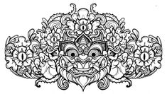 Barong (by Ian Austin) – Originally, I want a Barong tattoo on my back and Rangda on my arm BUT the idea of having them on opposite arms intrigues me more and more - good and evil. Anyway, this is an AWESOME illustration of Barong. The best I have seen so far.