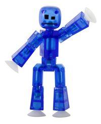 StikCow Figure Stikbot Translucent Blue Zing