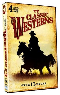 TV Classic Westerns 4 DVD Set Over 15 Hours!