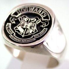 hogwarts crest, ring,