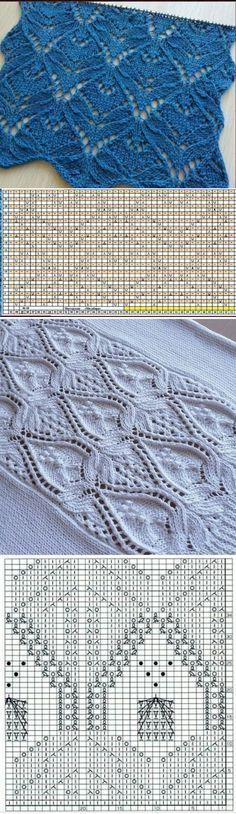 - Картинки по запросу einfaches lochmuster stricken, Images pour demande tricoter un motif de dentelle simple, # simple # motif en boucle # tricoter # tricoter … Knitting Charts, Easy Knitting, Knitting For Beginners, Knitting Stitches, Knitting Needles, Knitting Patterns, Crochet Patterns, Diy Crafts Crochet, Easy Diy Crafts