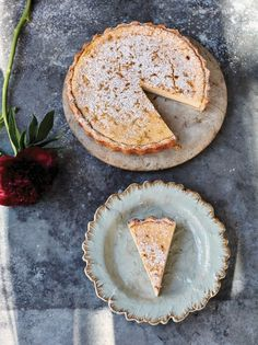 This homemade lemon tart recipe from Jamie Oliver is almost like a cheesecake – the ricotta makes it light and fluffy, and it's packed with zesty lemons. Tart Recipes, Fruit Recipes, Sweet Recipes, Dessert Recipes, Jamie's Recipes, Group Recipes, Lemon Recipes, Jamie Oliver, Amalfi