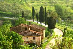 Certaldo, the southern part of the province of Florence in Tuscany