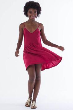 Vestido Curto Romã R$ 119,00 - Terra da Garoa Verão 15 - Moda Sustentável feita com amor