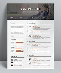 Resume Word / CV Template is the creative, clean, modern and professional resume template to help you land that great job. The flexible page designs are easy to use and customize. The ...