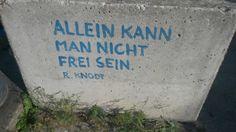Freiheit gibt es in einer Stadt nicht