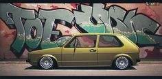 VW and graffiti? Yes please <3