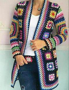 Granny Square jacket, anyone? |