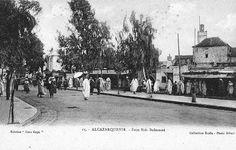 Alcazarquivir 1083 -el paseo, a la dcha. entradas a la calle real