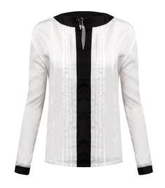 Zerdocean Women's Fashion Chiffon Long Sleeve Tops Shirts at Amazon Women's Clothing store: