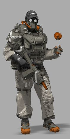 armor by buffy wang on ArtStation. Rpg Cyberpunk, Cyberpunk Character, Armor Concept, Concept Art, Character Concept, Character Art, Texture Photoshop, Futuristic Armour, Sci Fi Armor