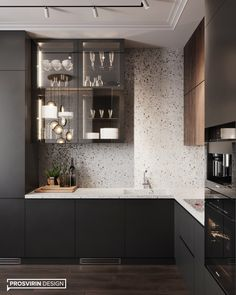 What makes your kitchen cozy? How already you want spring, warmth and flowers, exactly . Kitchen Room Design, Home Room Design, Modern Kitchen Design, Interior Design Kitchen, Modern Interior Design, Kitchen Decor, Small Apartment Interior, Apartment Kitchen, Luxury Kitchens