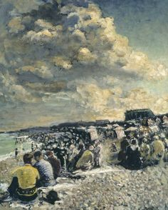 Jacques-Emile Blanche 'August Morning, Dieppe Beach', c.1934