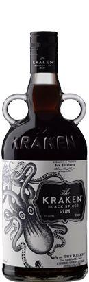 Kraken Dark Spiced Rum 700ml