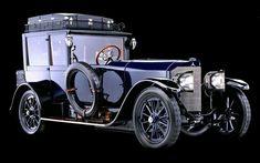 1917 Mercedes 60 hp Open Front Town Car