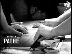 Pottery Without A Wheel (1940-1949) - YouTube