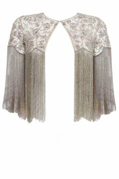 Shriya Som presents Grey fringe hi-low jacket