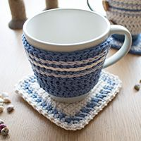 Make an Adorable Crochet Mug Hug and Rug (via craft.tutsplus.com)