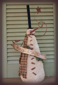 Snowmen dolls on pinterest doll patterns snowman and for Star catcher cabin pigeon forge tn