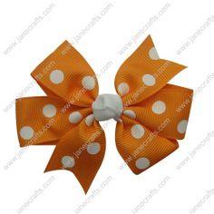 hair bow clip,dot two loops bow clip,pinwheel hair bow clip,two loops with tail bow clip,cute bow clip,fashionable and beautiful hair bow clip for girls
