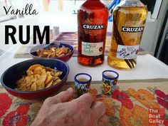 Vanilla Rum - it's easy to make your own!