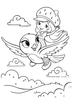 Strawberry shortcake coloring pages: Check out here 20 amazing strawberry shortcake coloring pages to print for free for your kids
